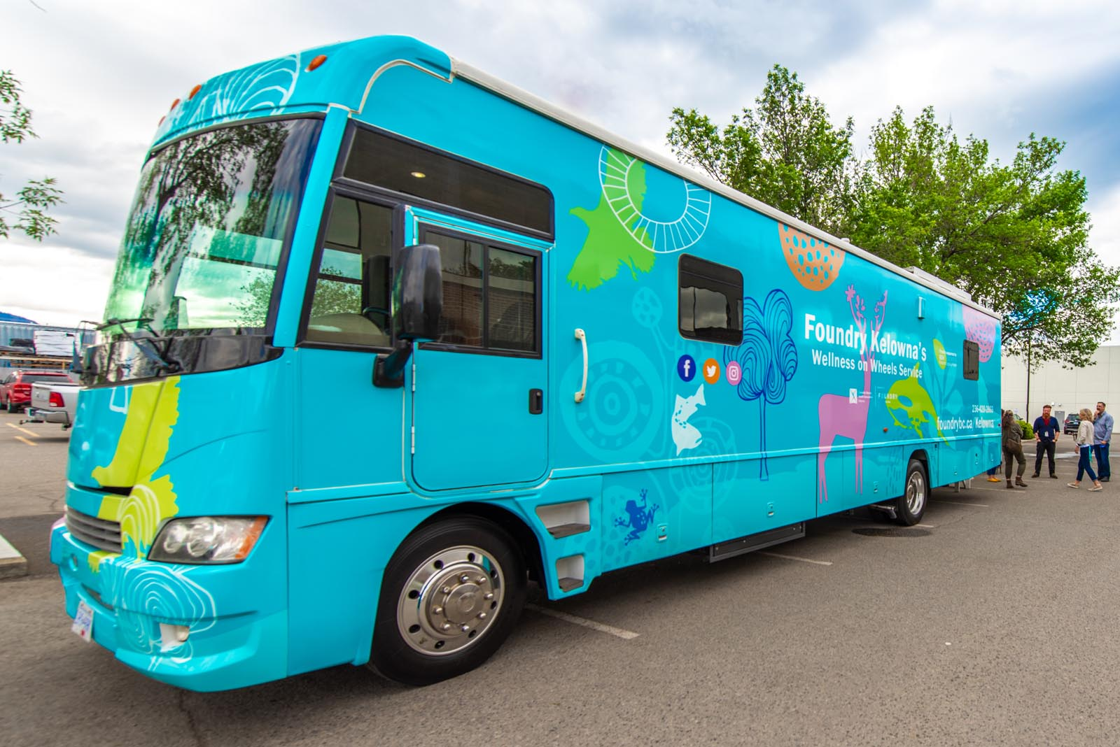 Wellness on Wheels Foundry mobile unit image